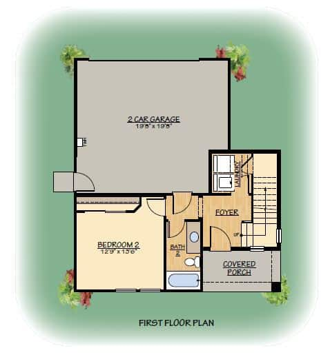 Latitudes Plan 2 - 1st Floor